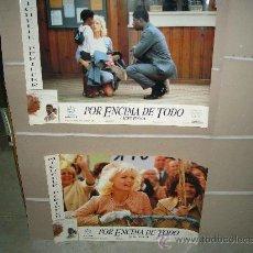 Cine: POR ENCIMA DE TODO MICHELLE PFEIFFER 4 FOTOCROMOS ORIGINALES GRANDES 65X45 CM. Lote 23132594