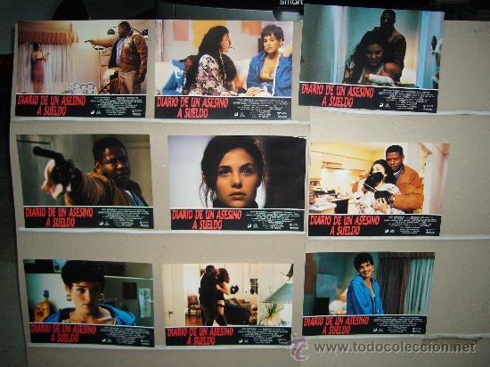 DIARIO DE UN ASESINO A SUELDO SHARON STONE SHERILYN FENN JUEGO COMPLETO (Cine - Fotos, Fotocromos y Postales de Películas)