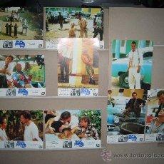 Cine: BLUE IGUANA 9 FOTOCROMOS ORIGINALES. Lote 23197900