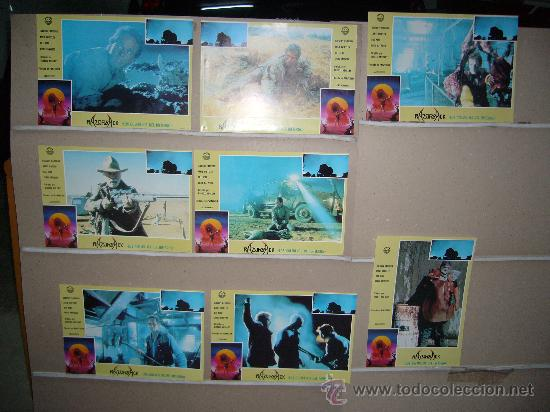 RAZORBACK LOS COLMILLOS DEL INFIERNO 8 FOTOCROMOS ORIGINALES Q (Cine - Fotos, Fotocromos y Postales de Películas)