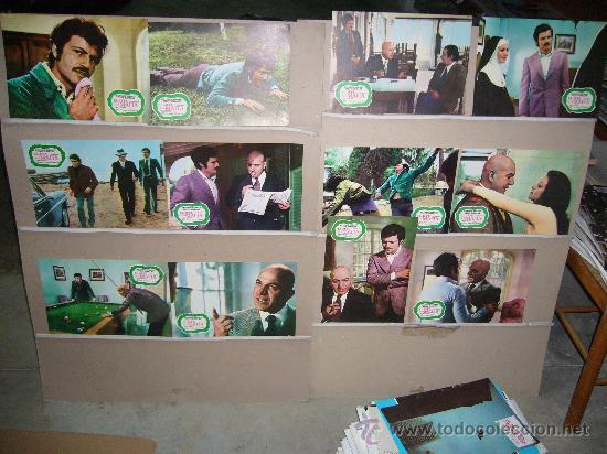EL JEFE DE LA MAFIA TELLY SAVALAS JUEGO COMPLETO Q (Cine - Fotos, Fotocromos y Postales de Películas)