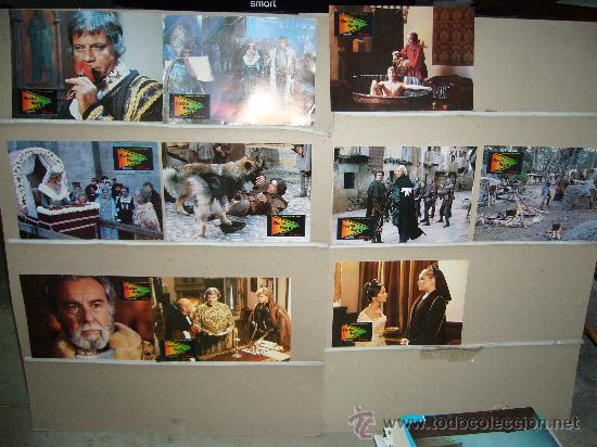 FLECHA NEGRA OLIVER REED FERNANDO REY JUEGO COMPLETO YY(248) (Cine - Fotos, Fotocromos y Postales de Películas)