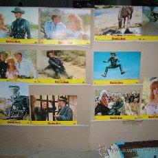 Cine: CACTUS JACK DOUGLAS SCHWARZENEGGER 11 FOTOCROMOS ORIGINALES. Lote 23713020