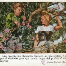 Cine: CROMO CINE PELÍCULA SIETE NOVIAS PARA SIETE HERMANOS NR.30 COLECC. FLORITA REVISTA PARA NIÑAS 1950. Lote 26699086