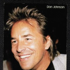 Cine: POSTAL DE DON JOHNSON. Lote 24590359