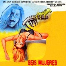 Cine: SEIS MUJERES PARA EL ASESINO 1964(FOTO INMEJORABLE CALIDAD) CAMERON MITCHEL FILM DE CULTO MARIO BAVA. Lote 26590391
