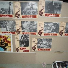 Cine: KING KONG FAY WRAY JUEGO COMPLETO. Lote 27243459
