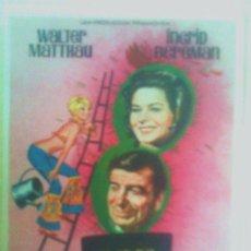 Cine: FOLLETO DE MANO - FLOR DE CACTUS 1969. Lote 26186647