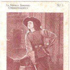 Cine: LA NOVELA SEMANAL CINEMATOGRAFICA- COLECCION DE 128 POSTALES- VER FOTOS- (B-32). Lote 26203581