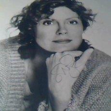Cine: SUSAN SARANDON. FOTOGRAFIA FIRMADA POR LA FAMOSA ACTRIZ CE CINE.. Lote 1967634