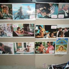 Cine: MUJERES DE FRIO Y FUEGO 11 FOTOCROMOS ORIGINALES MAS LA GUIA. Lote 26253103