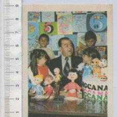 Cine: FOTO CROMO CINE RAMIRO GAMBOA TELERINES FAMILIA TELERIN Nº 163 ALBUM ESTRELLAS DE TELEVISION Y CINE. Lote 26277414