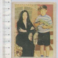 Cine: FOTO CROMO DE LA FAMILIA ADDAMS CAROLYN JONES Nº 293 ALBUM ESTRELLAS DE TELEVISION Y CINE. Lote 26278951