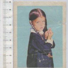 Cine: FOTO CROMO DE LA FAMILIA ADDAMS LISA LORING Nº 294 ALBUM ESTRELLAS DE TELEVISION Y CINE. Lote 26279006