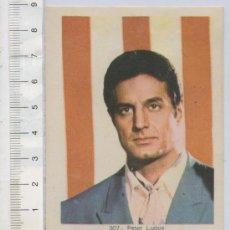 Cine: FOTO CROMO DE MISION IMPOSIBLE PETER LUPUS Nº 307 ALBUM ESTRELLAS DE TELEVISION Y CINE. Lote 26279295