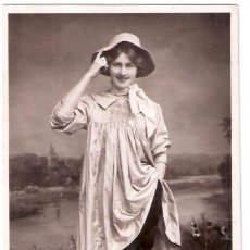 Cine: TARJETA POSTAL DE ACTORES. MISS PHYLLIS DARE. 4972D. ROTARY PHOTO. AS PEGGI IN THE DAIRYMAIDS.. Lote 26347013