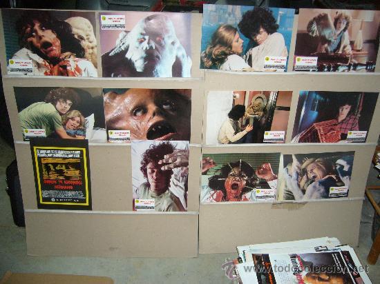 DONDE TE ESCONDES HERMANO FRANK HENENLOTTER TERROR GORE JUEGO COMPLETO (Cine - Fotos, Fotocromos y Postales de Películas)
