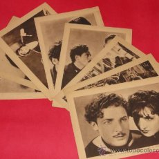 Cine: LILIOM, CHARLES FARRELL,COMPLETA 8 ESTAMPAS DEL CINEMA Nº12-CARTÓN FUNDA ORIGINAL-1930, EXCELENT EST. Lote 26961712