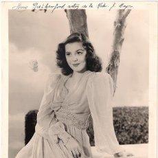Cine: FCJ 13054D ANN RUTHERFORD MGM FOTO B/N ORIGINAL AMERICANA. Lote 27381190