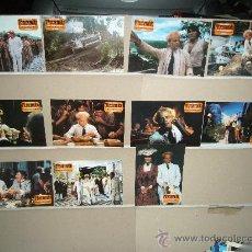 Cine: FITZCARRALDO WERNER HERZOG KLAUS KINSKI 11 FOTOCROMOS ORIGINALES. Lote 27419763