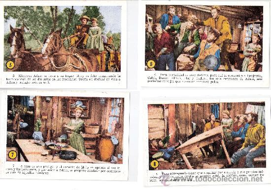 Cine: SIETE NOVIAS PARA SIETE HERMANOS -COL.COMPL.32CROMOS TAMAÑO POSTAL-VER FOTOS-(42.617) - Foto 3 - 27633903