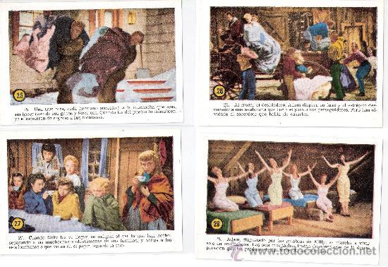 Cine: SIETE NOVIAS PARA SIETE HERMANOS -COL.COMPL.32CROMOS TAMAÑO POSTAL-VER FOTOS-(42.617) - Foto 8 - 27633903