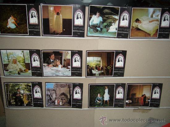 LAS BODAS DE BLANCA CONCHA VELASCO 11 FOTOCROMOS ORIGINALES (Cine - Fotos, Fotocromos y Postales de Películas)