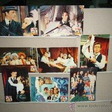 Cine: EL DIABLO POR LA COLA YVES MONTAND MARIA SCHELL 8 FOTOCROMOS ORIGINALES. Lote 27819325