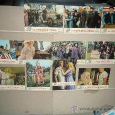 Cine: LOS LOCOS AÑOS DE CHICAGO MELINA MERCOURI 11 FOTOCROMOS ORIGINALES. Lote 27948508