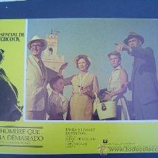 Cine: 4 CARTELERAS DE PELÍCULAS DE HITCHCOCK. Lote 30693430
