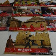 Cine: MOOLAADE - 10 FOTOCROMOS ORIGINALES. Lote 28026528