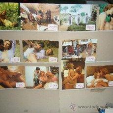 Cine: EL ULTIMO PECADO DE LA BURGUESIA RAQUEL EVANS ENRIQUE GUEVARA 11 FOTOCROMOS ORIGINALES. Lote 28214161
