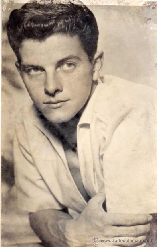 POSTAL PETER BRAUM - FILM JOVENES INVASORES - TEMPORADA 1961 - EDIC. RAKER (Cine - Fotos y Postales de Actores y Actrices)