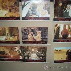 Cinema: EL SECRETO DEL SAHARA MICHAEL YORK MIGUEL BOSE JUEGO COMPLETO Q. Lote 28532340