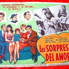 Cine: LAS SORPRESAS DEL AMOR 1959 (LOBBY CARD ORIGINAL) SYLVA KOSCINA WALTER CHIARI DORIAN GRAY. Lote 28626385
