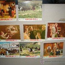 Cine: SARTANA EN EL VALLE DEL ORO WILLIAM BERGER SPAGHETTI 9 FOTOCROMOS ORIGINALES W. Lote 28680621