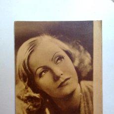 Cine: ESTAMPAS DEL CINEMA Nº 1. ROMANCE DE MGM.CON GRETA GARBO.(16,5X13,5). Lote 28746444