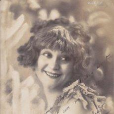 Cine: FOTOGRAFÍA DEDICADA: EVA STACHINO, ACTRIZ, VEDETTE. 1927 - CABARET - CINE. Lote 28765410