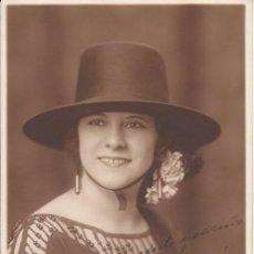Cine: FOTOGRAFÍA DEDICADA: EUGENIA GALINDO, ACTRIZ, VEDETTE. 1923 - CABARET - CINE - REVISTA MUSICAL. Lote 28765507