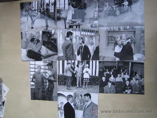 JULES ET JIM FRANÇOIS TRUFFAUT JEANNE MOREAU - 10 FOTOS ORIGINALES ESPAÑOLAS DEL ESTRENO (Cine - Fotos, Fotocromos y Postales de Películas)