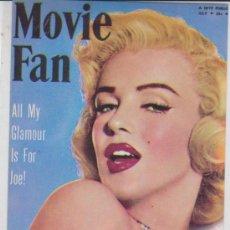 Cine: MARILYN MONROE. POSTAL DE 1987.. Lote 29379022