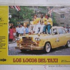 Cine: SET COMPLETO 12 FOTOCROMOS - LOS LOCOS DEL TAXI - ADAM BALDWIN, MISTER T. Lote 220820998