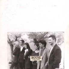 Cine: (M-ALB1) FOTOGRAFIA ORIGINAL DE PEDRO ALMODOVAR , BIBI ANDERSEN, ROSSI DE PALMA, CARMEN MAURA . Lote 30016698