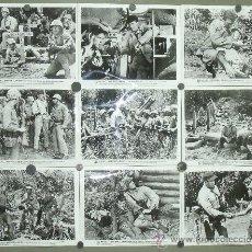 Cine: F24041D TODOS ERAN VALIENTES FRANK SINATRA 29 FOTOS ORIGINALES AMERICANAS. Lote 30164653