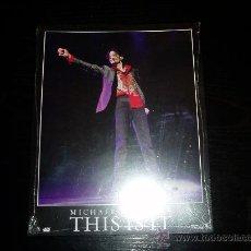 Cine: THIS IS IT. MICHAEL JACKSON´S. JUEGO COMPLETO DE FOTOCROMOS ORIGINALES. PRECINTADO.NUEVO.. Lote 199424138