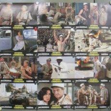 Cine: OU41 RUFIANES Y TRAMPOSOS JEAN-PAUL BELMONDO LEGION EXTRANJERA 12 FOTOCROMOS ORIGINAL ESTRENO. Lote 30788922
