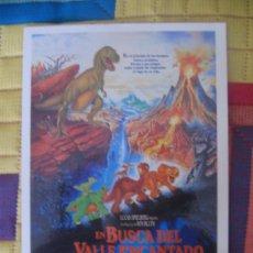 Cine: EN BUSCA DEL VALLE ENCANTADO. Lote 31275614