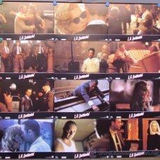Cine: QA09 L.A. CONFIDENTIAL RUSSELL CROWE KIM BASSINGER SET COMPLETO 12 FOTOCROMOS ORIGINAL ESTRENO. Lote 210834367