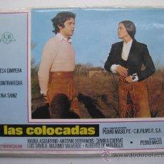 Cine: SET COMPLETO 12 FOTOCROMOS - LAS COLOCADAS - TERESA GIMPERA, LA CONTRAHECHA, TINA SAINZ. Lote 40021988