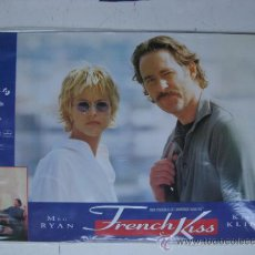 Cine: SET COMPLETO 10 FOTOCROMOS - FRENCH KISS - MEG RYAN, KEVIN KLINE. Lote 220873627